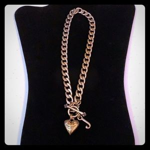 Juicy Couture Heart Necklace